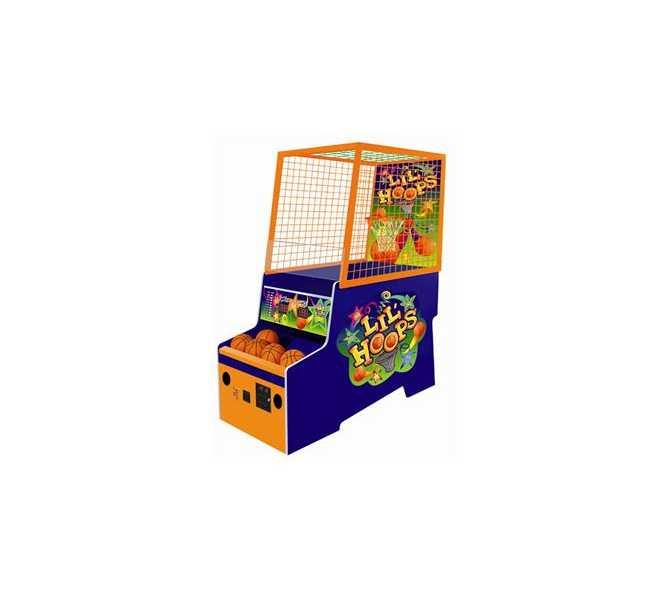 BAY TEK LIL' HOOPS BASKETBALL Ticket Redemption Arcade Machine Game for sale