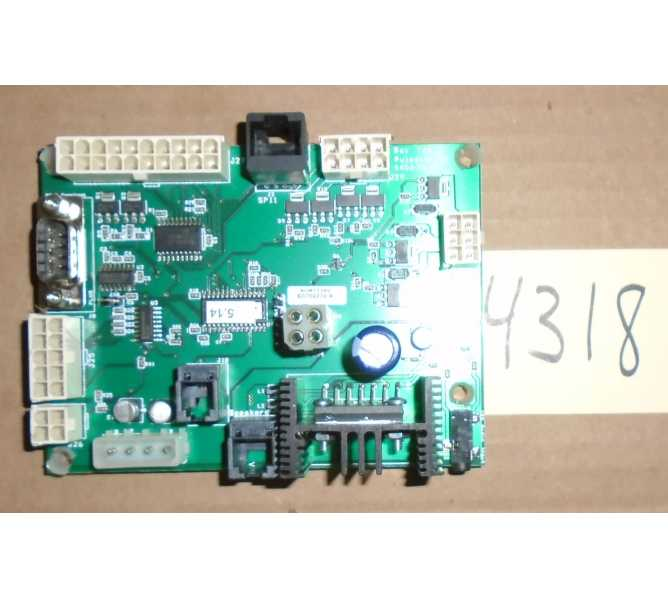 BAYTEK ROAD TRIP Redemption Arcade Machine Game PCB Printed Circuit I/O and SOUND AMP Board #4318 for sale