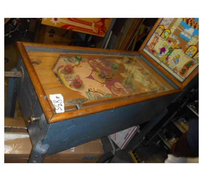 """BOSCO Pinball Machine Game by GENCO - from 1941 - Complete - Not Working - """"AS IS"""""""