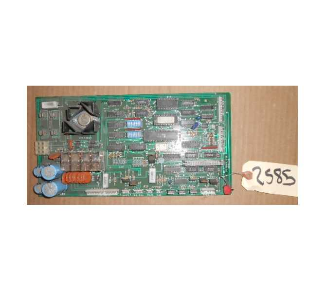 Big Choice Crane Redemption Arcade Machine Game PCB Printed Circuit REVISION D Board #2585 for sale
