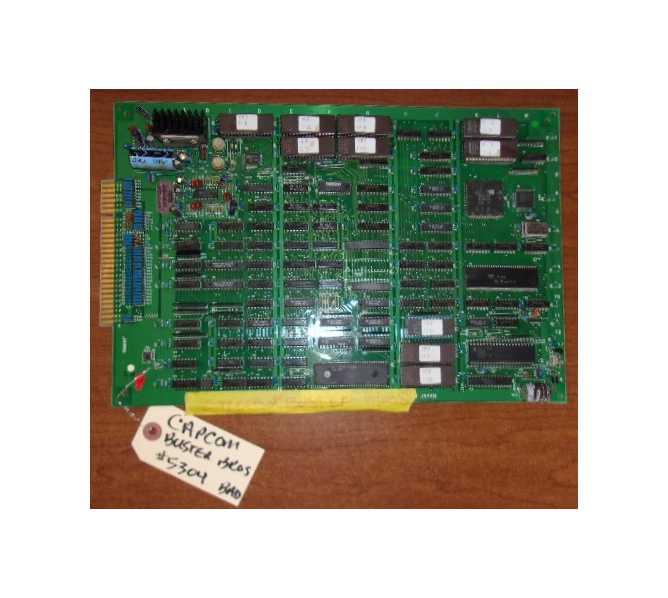 CAPCOM BUSTER BROS. Arcade Machine PCB board #5304 for sale