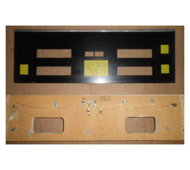 CAVEMAN Pinball Machine Game DISPLAY GLASS & MOUNTING BOARD #1308 for sale