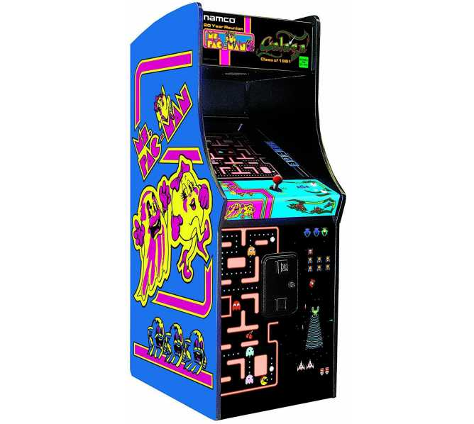 CHICAGO GAMING MS. PACMAN/GALAGA CLASS OF 1981 Arcade Machine Game - 6 IN 1 for HOME