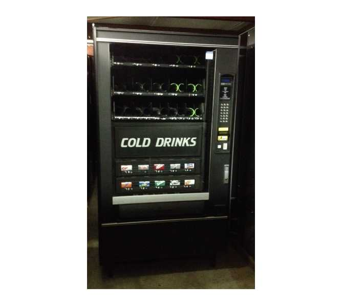 CRANE 497 Refreshment Center 4 COMBO Snack & Soda Vending Machine for sale