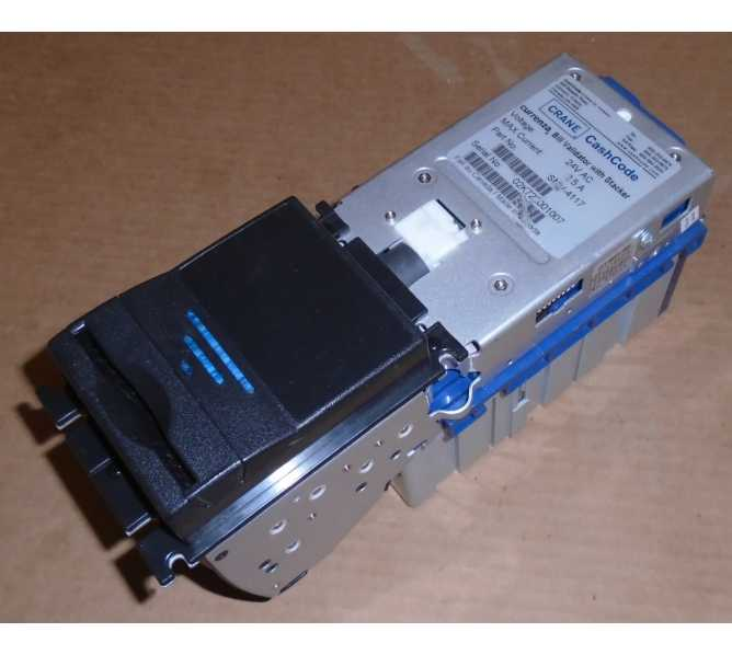 CRANE CURRENZA SMV-4117 Bill Validator Acceptor Mechanism for sale