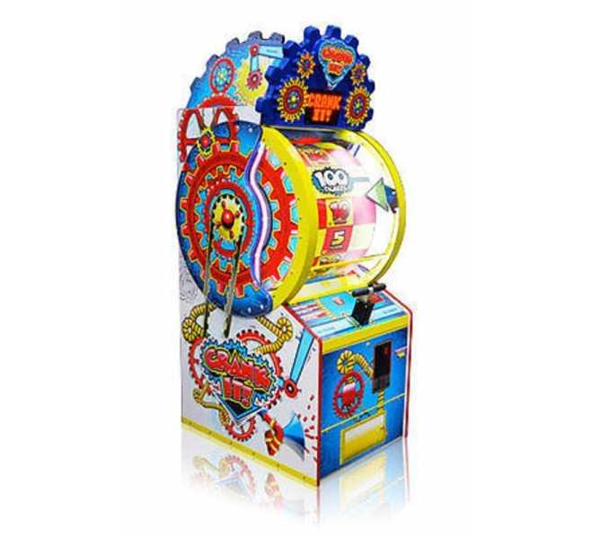CRANK IT Ticket Redemption Arcade Machine Game for sale by BAY TEK - LIGHT USE