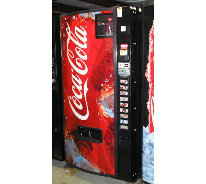 Dixie Narco 501E 9 SELECTION SODA COLD DRINK Vending Machine for sale