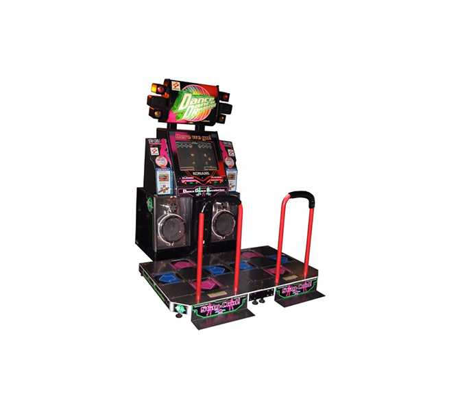 DANCE DANCE REVOLUTION 8th MIX EXTREME Arcade Machine Game for sale by KONAMI - UPDATED
