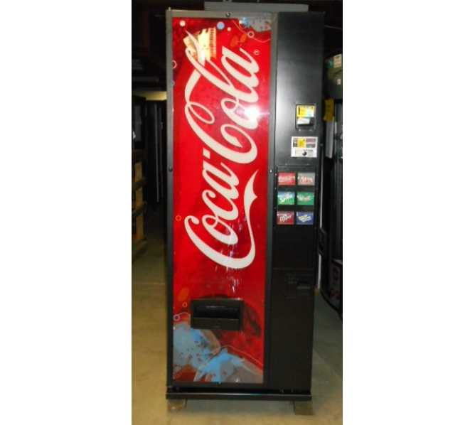 Dixie Narco DN 276 S11 6 SELECTION SODA COLD DRINK Vending Machine for sale