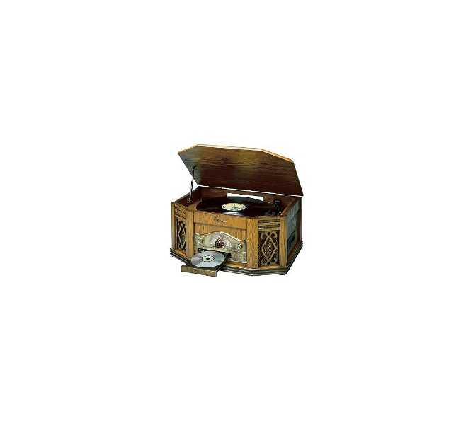 Emerson NR303TT Heritage Series Mini Stereo System - Turntable, Record Player, Cassette, Tape, Compact Disc, CD, AM/FM Radio NR303TT for sale