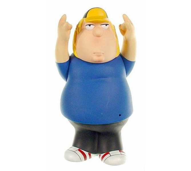 Family Guy Pinball Machine Game CHRIS Playfield Figurine Toy #880-5084-04 for sale by STERN