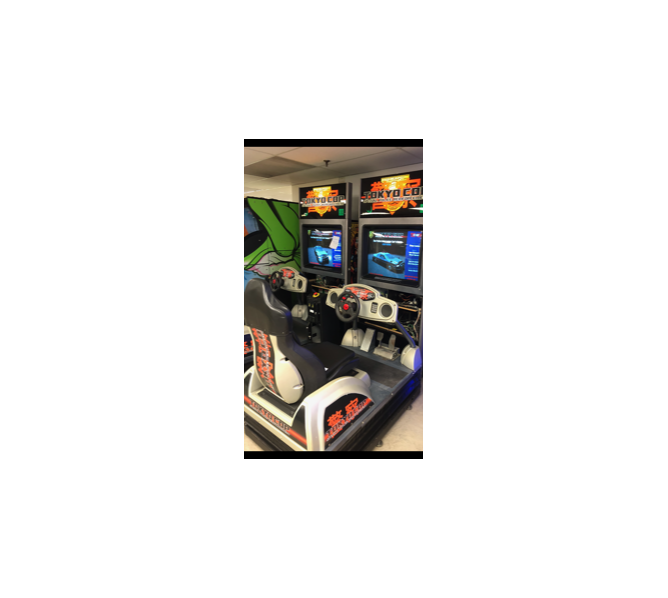 GAELCO TOKYO COP Arcade Machine Game for sale
