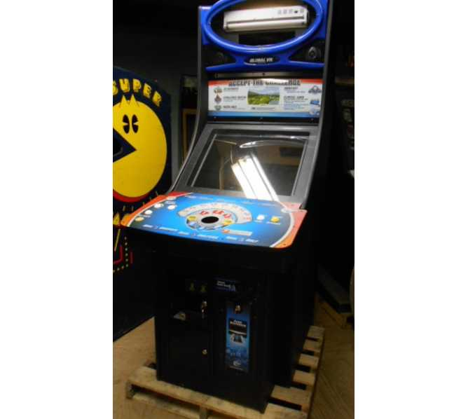 """GLOBAL VR 27"""" Upright Arcade Machine Factory Cabinet Only with Coin Door - BUILD YOUR OWN MAME Game"""