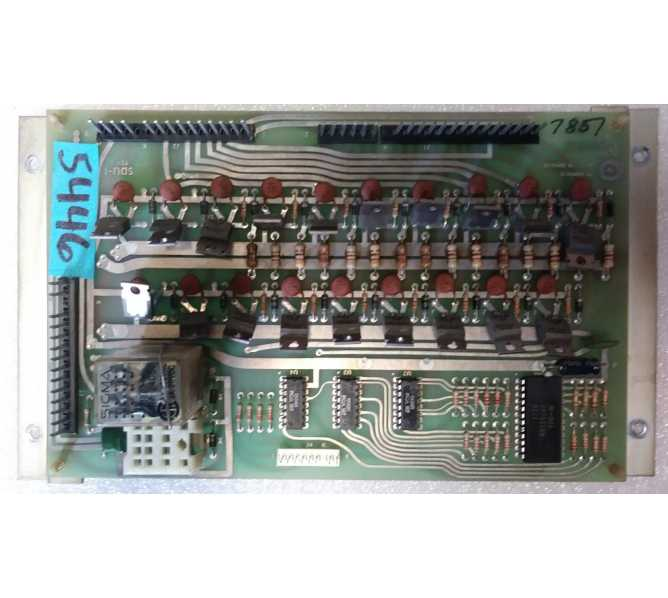 Game Plan Pinball Machine Game SOLENOID DRIVER BOARD #5446 for sale