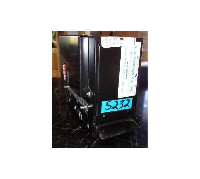 HAMILTON MANUFACTURING COMPANY Bill Head Validator Acceptor DBA #46-4000GSD