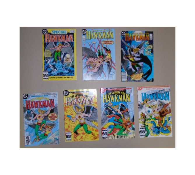 HAWKMAN COMIC BOOK LOT - SPECIAL, 2nd SERIES  1 & 2, THE SHADOW OF WAR ISSUE  1 through  4 for sale