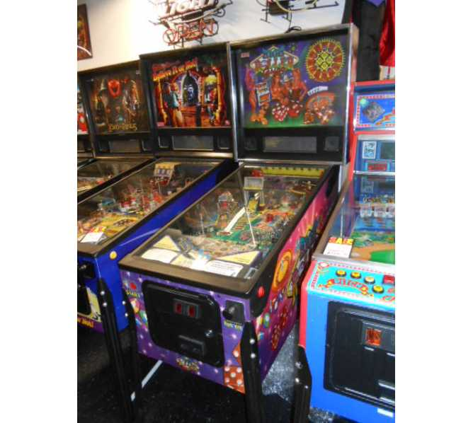 HIGH ROLLER CASINO Pinball Game Machine For Sale by Stern