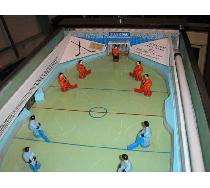 HOCKEY CHAMP Arcade Machine Game for sale by CHICAGO COIN