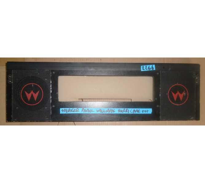 WILLIAMS HURRICANE Pinball Machine Game SPEAKER PANEL ASSEMBLY #2266 for sale