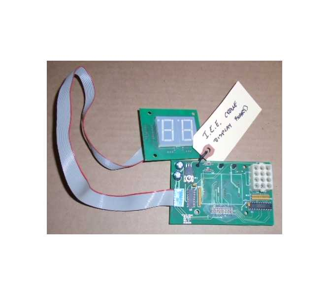 ICE CRANE Redemption Arcade Machine Game PCB Printed Circuit DISPLAY Board #3174 for sale