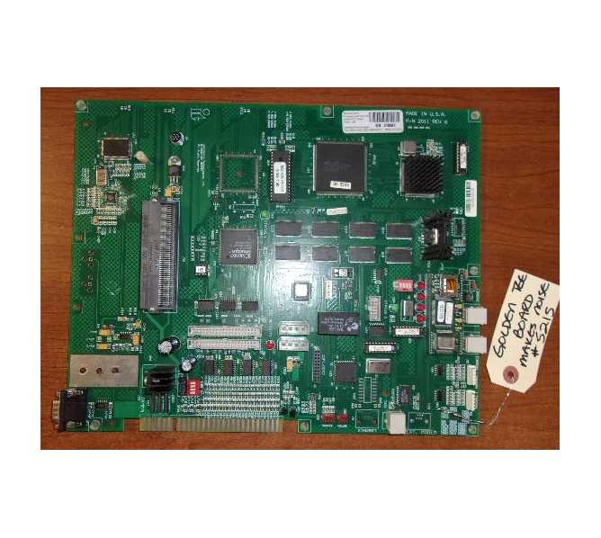 INCREDIBLE TECHNOLOGIES GOLDEN TEE Arcade Machine Game PCB Printed Circuit Board #5215 for sale