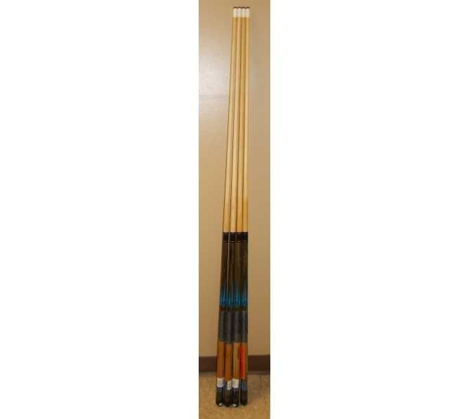 """Imperial Two Piece 57"""" Pool Cue Stick for sale #180 - Lot of 4"""