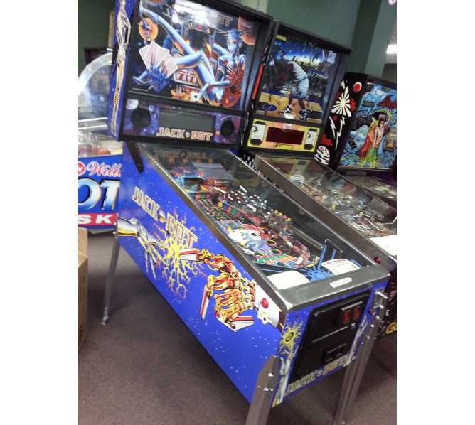 JACK BOT Pinball Machine Game for sale - Williams - LED Upgrade