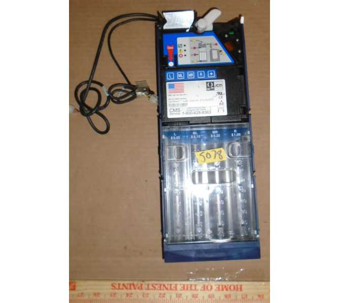 JCM OPTIPAY A-66 #887-000020 Coin Mech Changer #5078 for sale