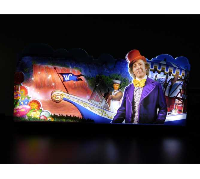 JERSEY JACK WILLY WONKA LIMITED EDITION Pinball Machine Game TOPPER #99-050036-00 for sale