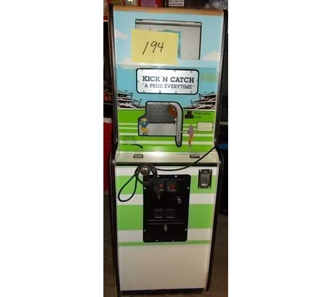 KICK 'N CATCH Arcade Machine Game for sale by Johnson Products