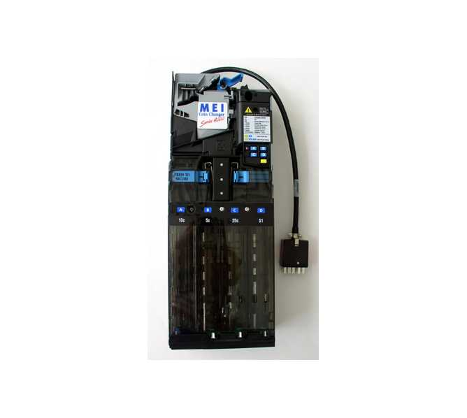 MARS MEI VN 4010 - 4 Tube - 15 pin Coin Mech Changer Acceptor Mechanism for sale - Reconditioned