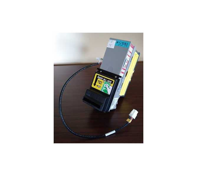 MARS Mei AE 2455 AE2455-U5 12V  $1 & New $5  Dollar Bill Validator Acceptor Changer DBA with HARNESS (5391) for sale