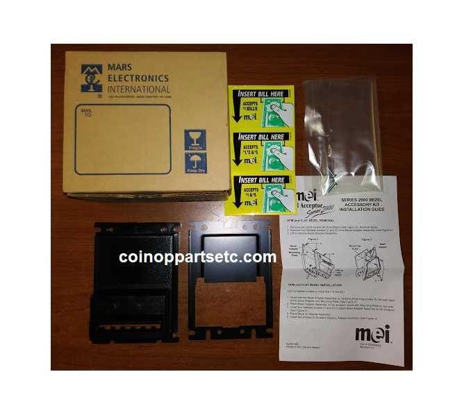 MARS Mei Bill Acceptor Series 2000 Bezel Accessory Kit #3020 for sale - NEW