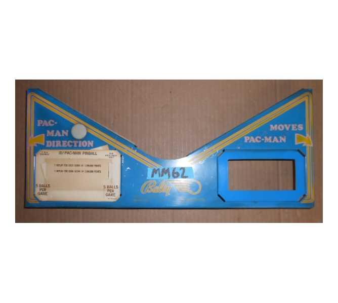 MR. & MRS. PAC-MAN PACMAN Pinball Machine Game Apron #MM62 for sale