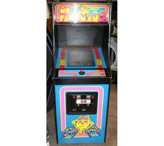 MS. PACMAN ORIGINAL Upright Arcade Machine Game for sale