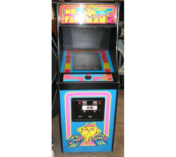 MS. PAC-MAN ORIGINAL Upright Arcade Machine Game for sale - THE MOST POPULAR GAME EVER