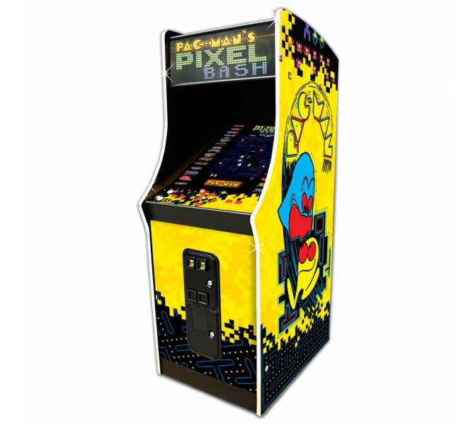 NAMCO PAC-MAN PIXEL BASH Arcade Machine Game HOME CABARET for sale