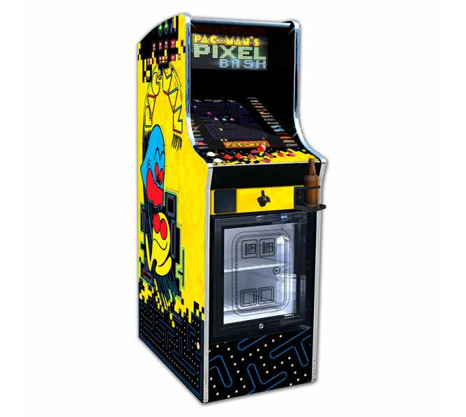 NAMCO PAC-MAN PIXEL BASH Arcade Machine Game HOME CABARET with CHILL CABINET for sale