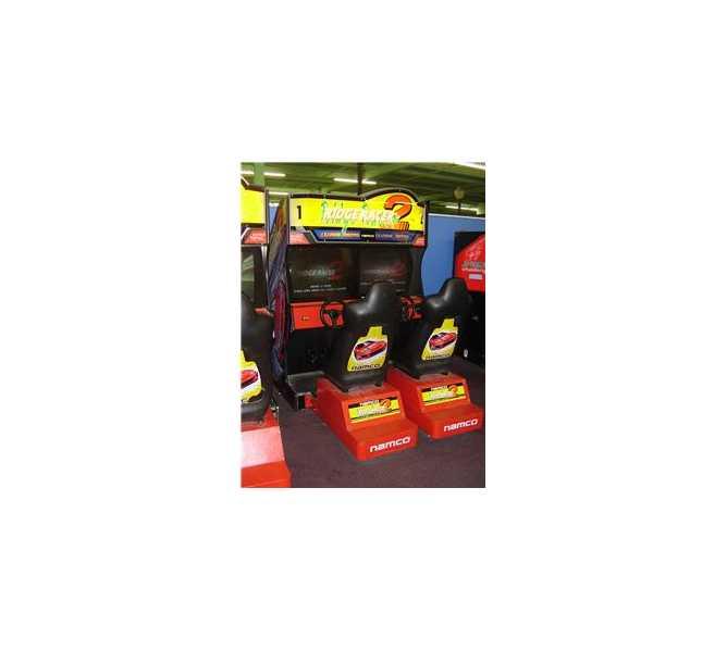 NAMCO RIDGE RACER 2 TWIN Sit-Down Arcade Machine Game for sale