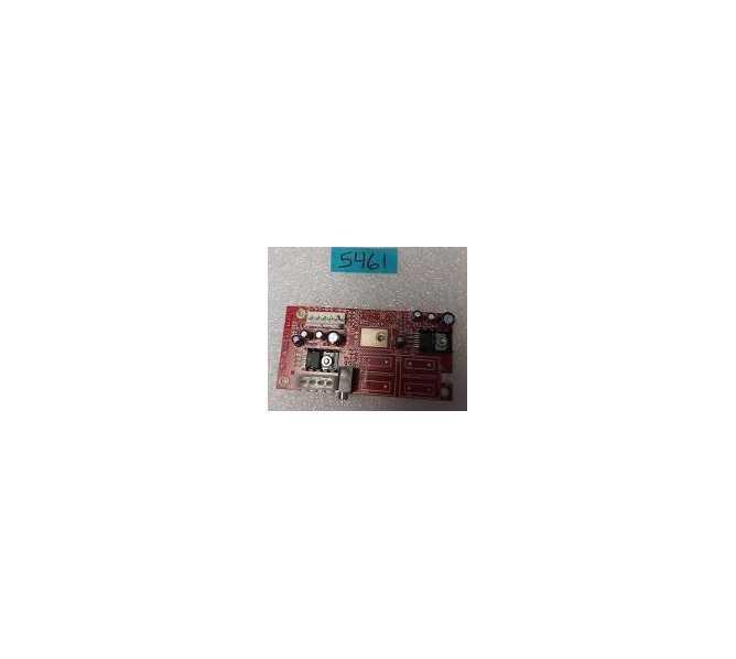 NAMCO ROCKIN' BOWL-O-RAMA Arcade Machine Game PCB Printed Circuit SOUND AMP Board #5461 for sale - NOS