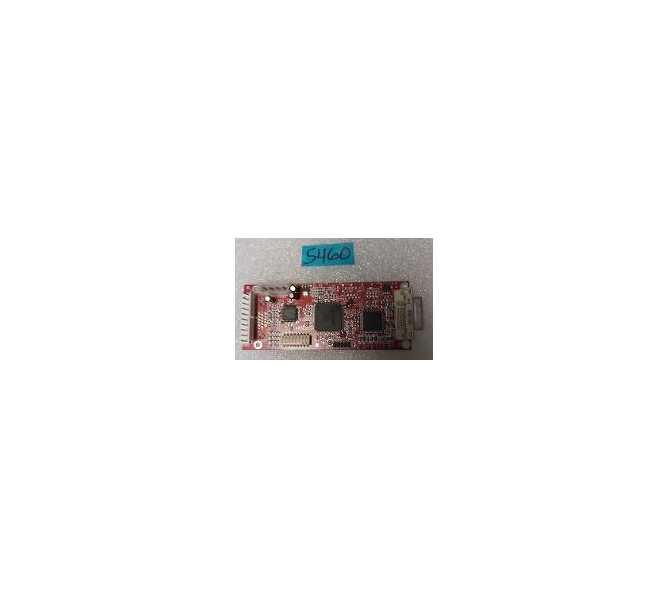 NAMCO ROCKIN' BOWL-O-RAMA Arcade Machine Game PCB Printed Circuit VIDEO CONVERTER Board #5460 for sale - NOS