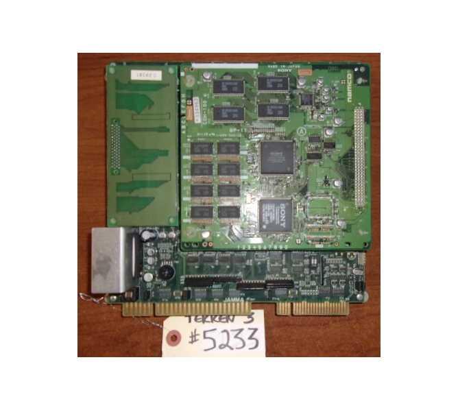 NAMCO TEKKEN 3 Arcade Machine Game PCB Printed Circuit Board #5233