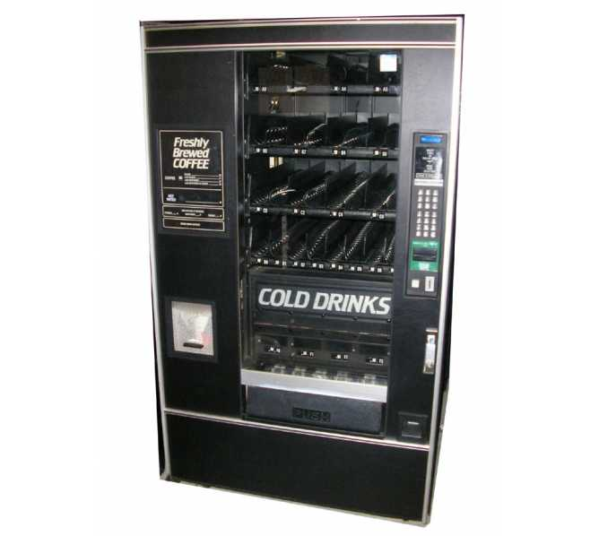 NATIONAL 475 REFRESHMENT CENTER Cold Drink/Glass Front/Hot Beverage Vending Machine for sale