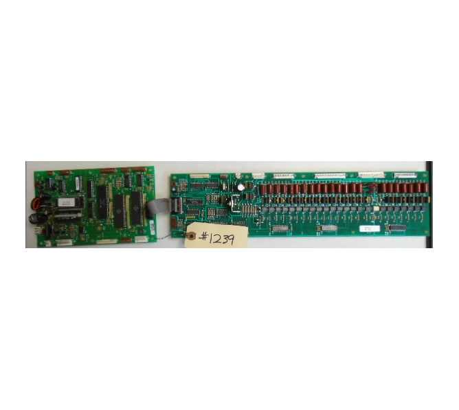 NATIONAL 635D COFFEE Vending Machine PCB Printed Circuit CONTROL & DRIVER Board #1239 for sale