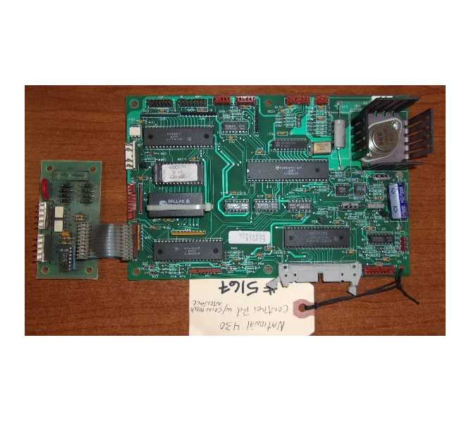NATIONAL VENDORS 430 COLD FOOD Vending Machine PCB Printed Circuit MAIN CONTROL Board w/ Coin Mech Interface #5167 for sale