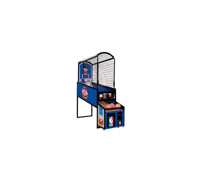 NBA HOOPS BASKETBALL Arcade Machine Game by ICE - LIGHT USE
