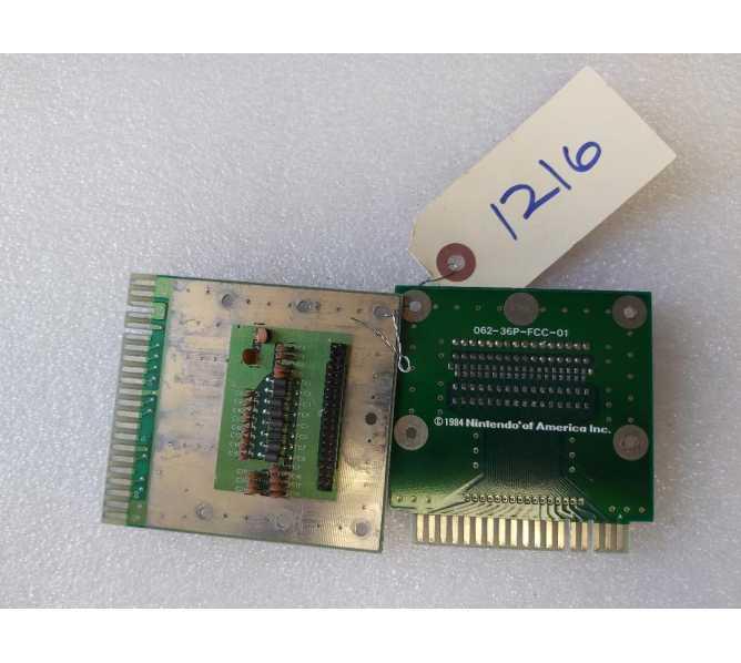NINTENDO Arcade Machine Game PCB Printed Circuit U.S. FILTER ADAPTER Boards #1216 - LOT of 2