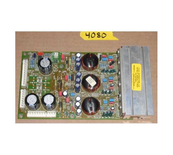 NSM COSMIC BLAST Jukebox PCB Printed Circuit POWER CONVERTER Board #4080 for sale