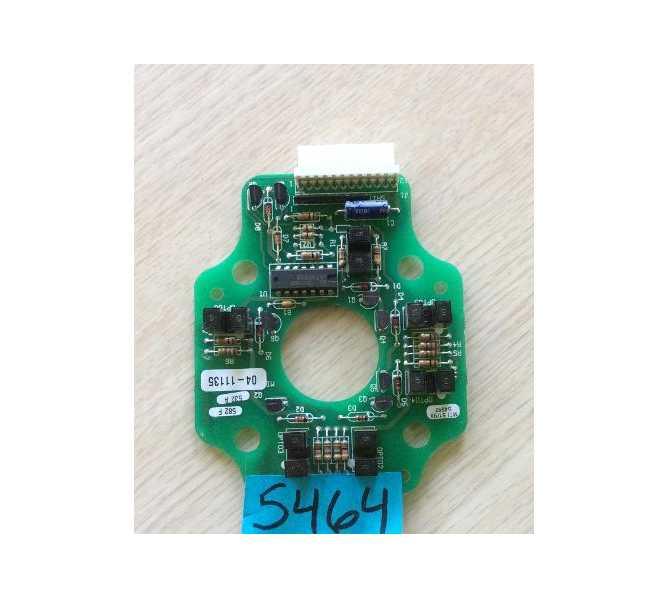 Opto - Board Assy Model #04-11135 Arcade Machine Game PCB Printed Circuit Board #5464 for sale