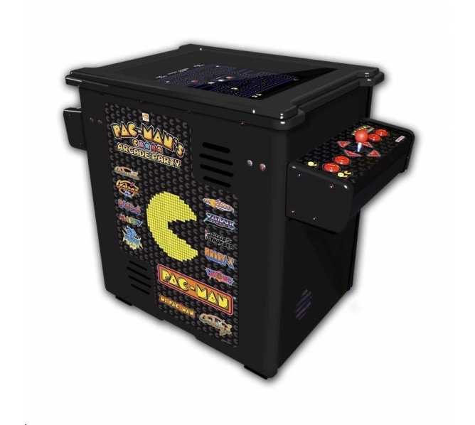 PAC-MAN'S ARCADE PARTY 30th Anniversary Cocktail Table Arcade Machine Game for sale